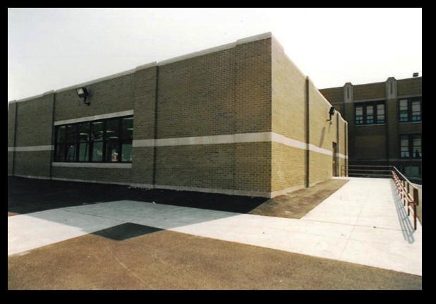 Jane Adams Elementary School New Lunchroom2